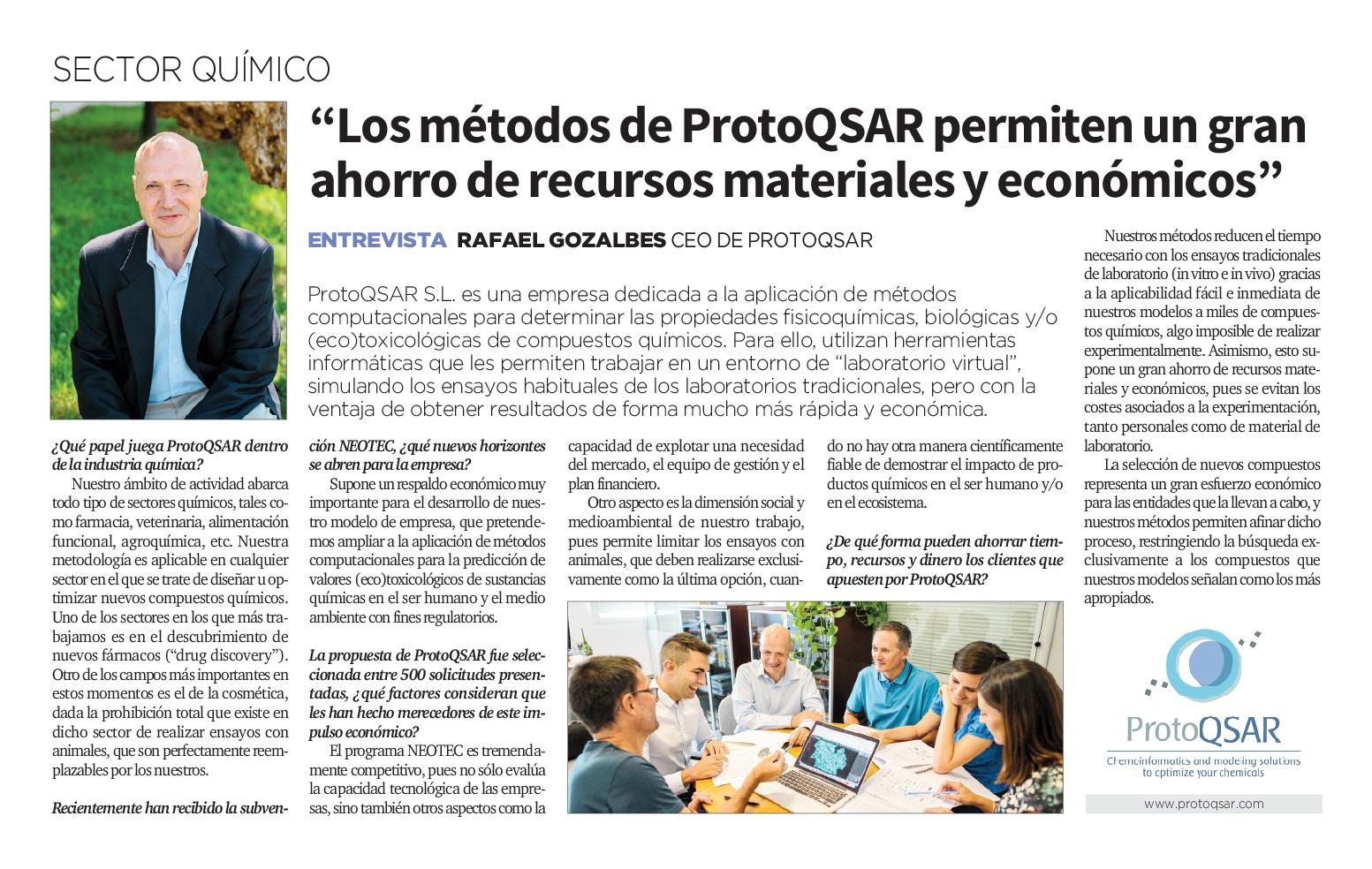 ProtoQSAR La Razón