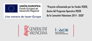 Fondos FEDER UE - Generalitat Valenciana - IVACE