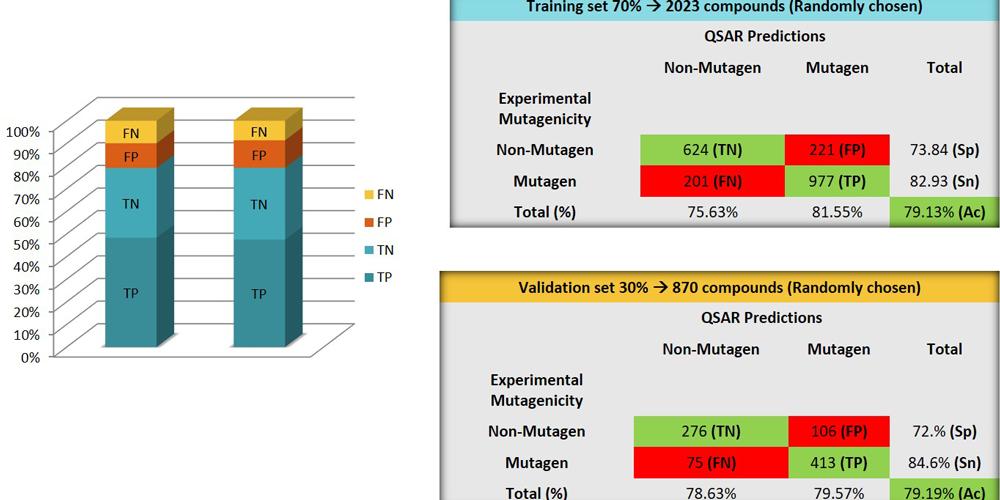 Presentation of mutagenicity models